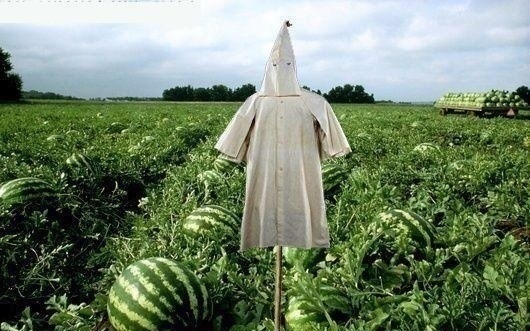 Watermelon-scarecrow