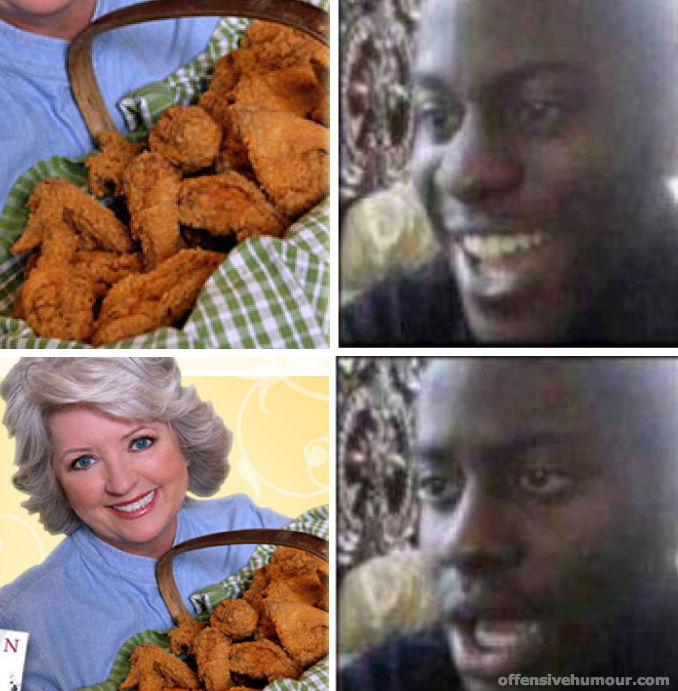 Fried chicken with a catch