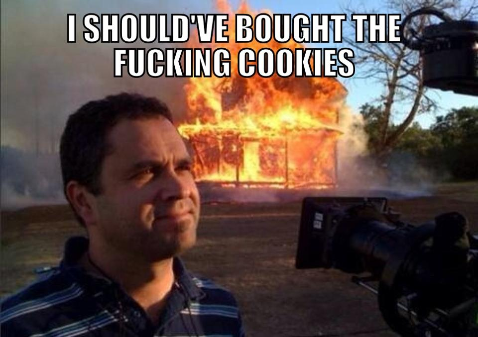 i should have bought the cookies