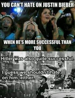Don't hate success