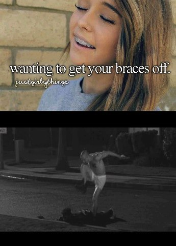 getting your braces off