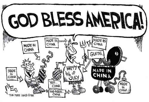 God Bless America made in China