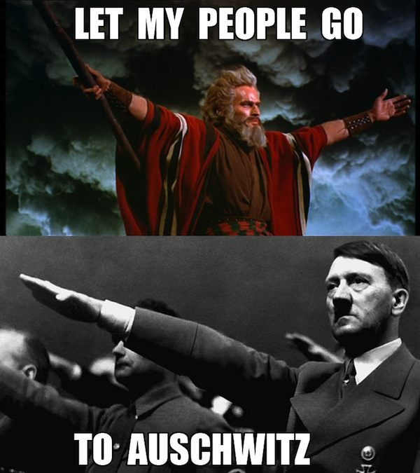 moses and hitler