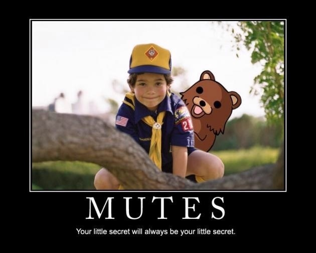 Why he likes mutes