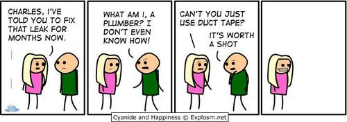 Cyanide and Happiness - Duct tape