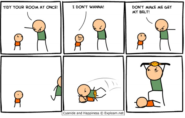 Cyanide and Happiness - Get my belt