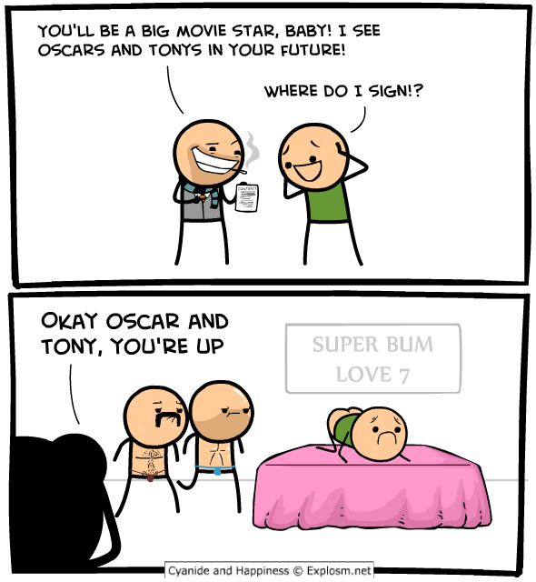 Cyanide and Happiness - Tony's and Oscar's