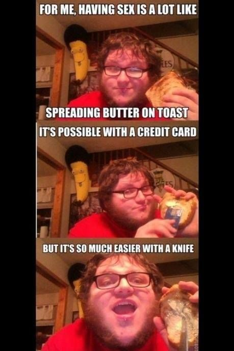 Easier with a knife