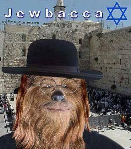 Chewbacca's religious cousin