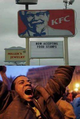 KFC now accepting food stamps