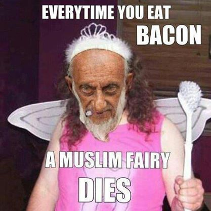 Killing muslim fairies
