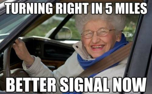 old women drivers