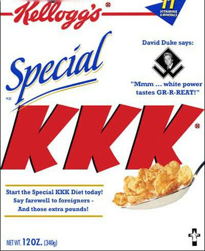 New cereal for white people