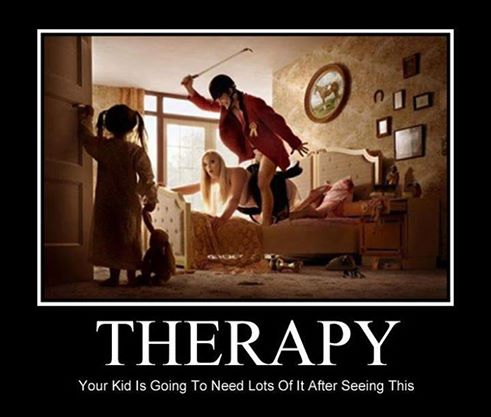 Therapy will be needed