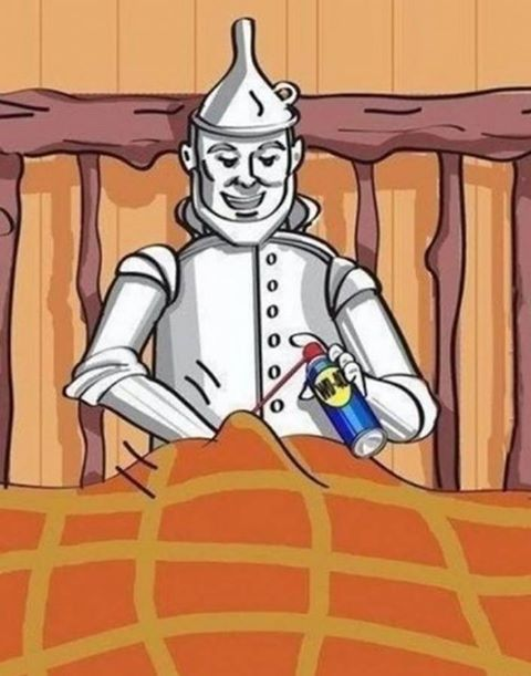 Tin man's vaseline