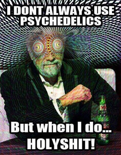 using psychedelics