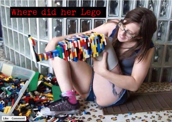 Where did her lego...