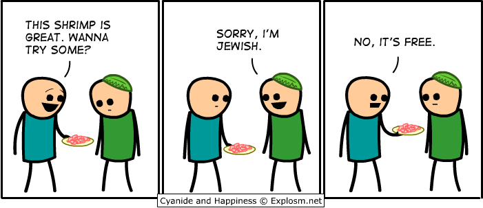 Cyanide and Happiness - Shrimp