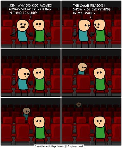 Cyanide and Happiness - Trailers