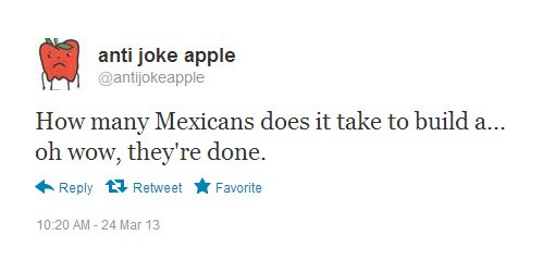 How many mexicans joke