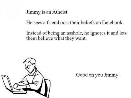 Jimmy the atheist