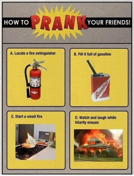 Pranking your friends