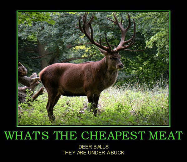 The cheapest meat