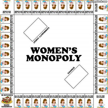 Monopoly for women
