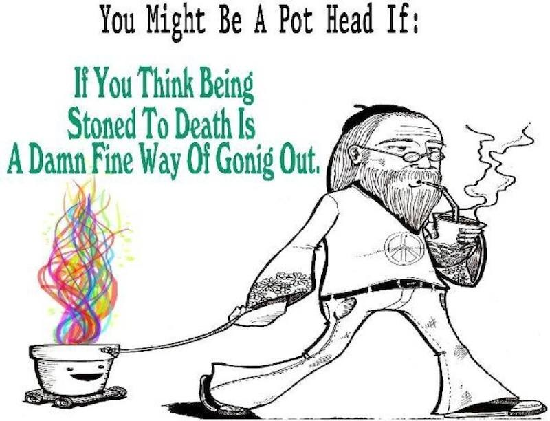 You might be a pothead if...