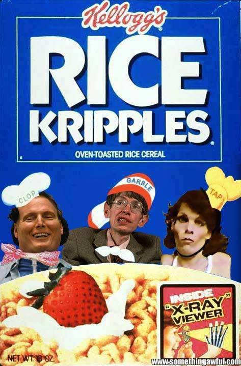 Rice kripples cereal