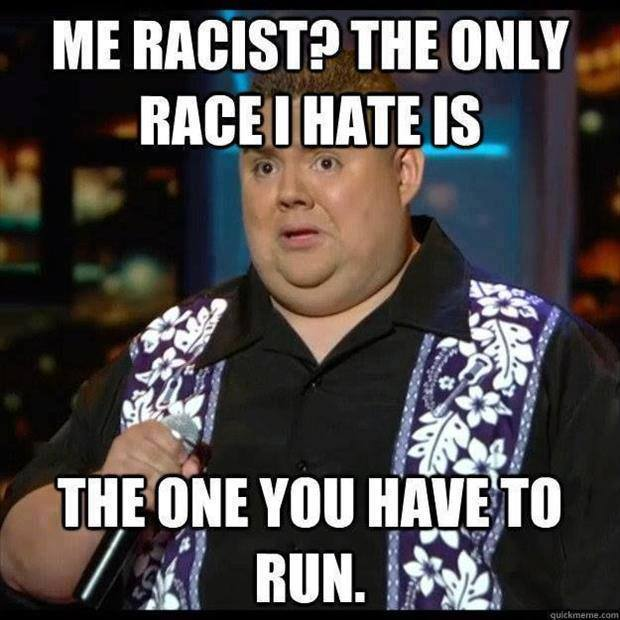 Only race he hates