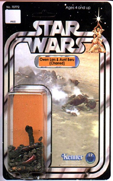 Most violent scene in star wars now a toy