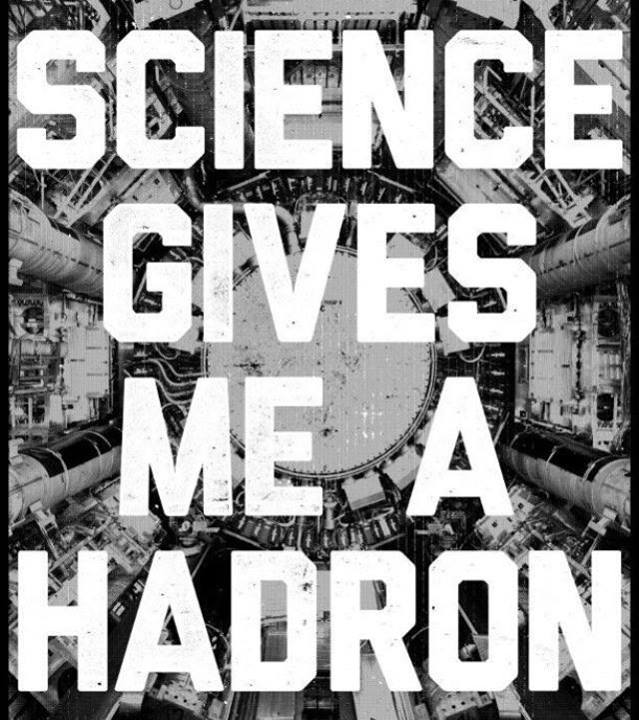 Funny science hadron pun