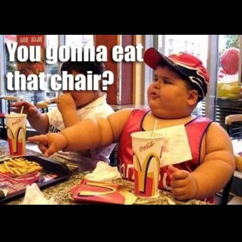 Are you going to eat that? fat chinese kid joke