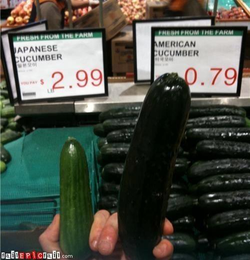 The proof is in the cucumber