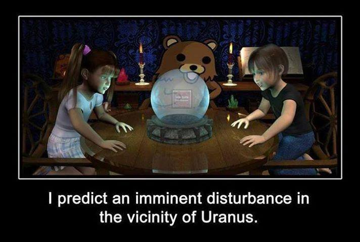 A disturbance around Uranus