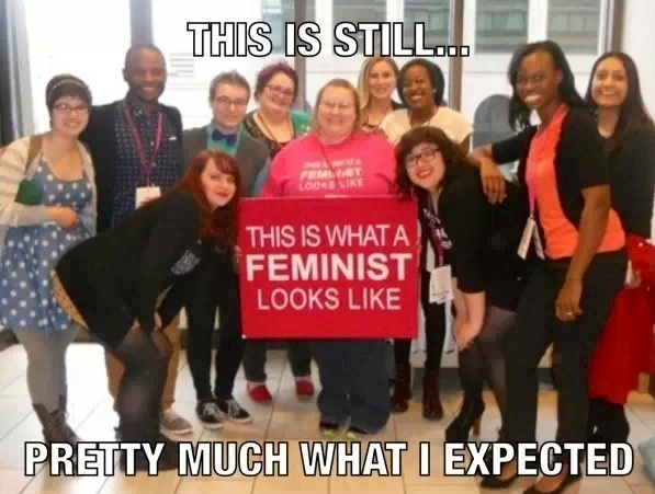 The faces of feminism