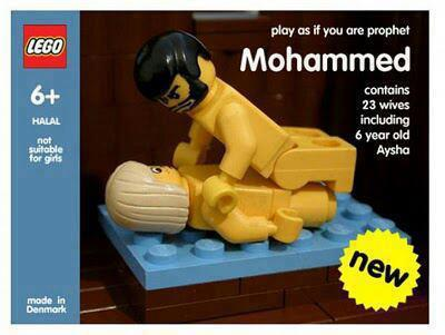 Mohammed lego action figure