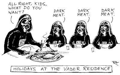 Thanksgiving at the Vader's