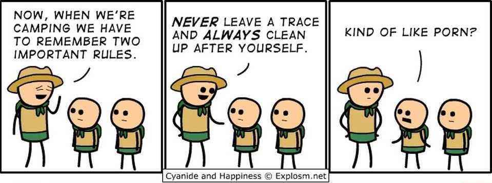 cyanide-happiness-camping-rules