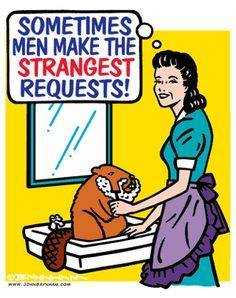 Strange requests from men