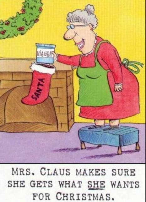 What Mrs. Claus wants