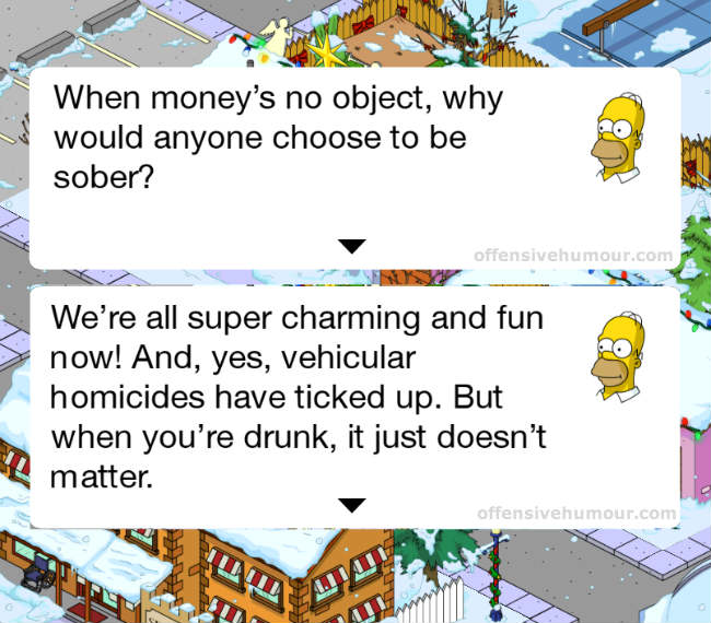 Homer - When money is no object