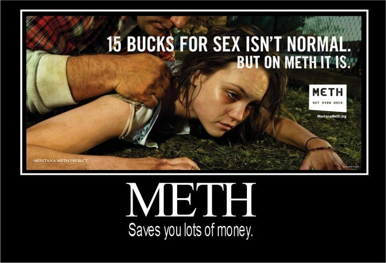 Meth - saves you money