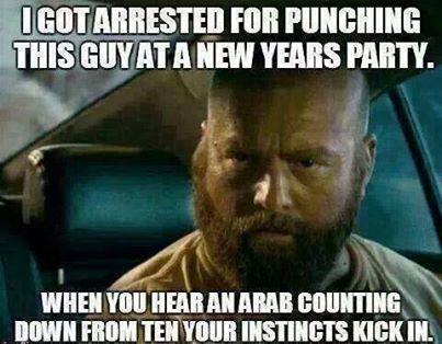 Punched a guy at new years