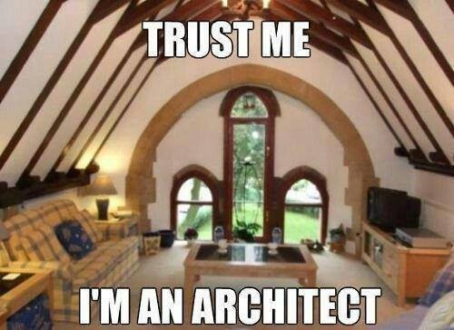 Listen to the architect...