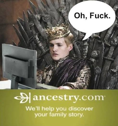 Ancestry in game of thrones