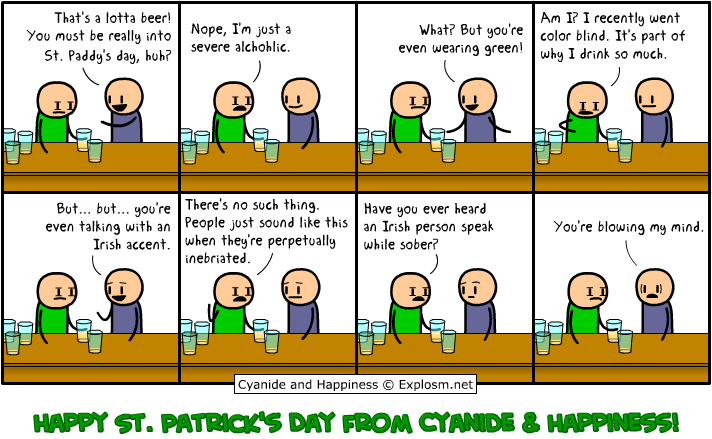Cyanide and Happiness - At the bar