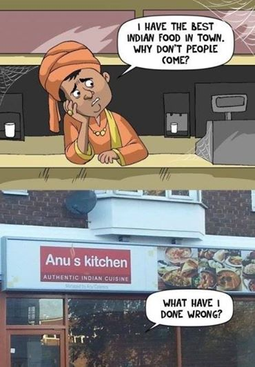 Why no one eats there