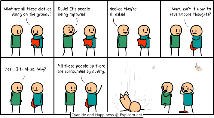 Cyanide and Happiness - The Rapture
